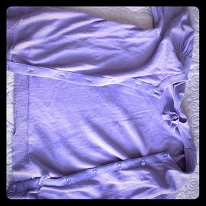Purple Sweater Or Cover up